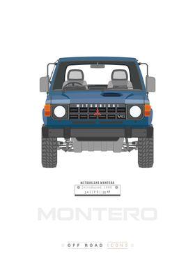 Montero blue