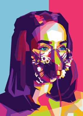 Women Mask Floral