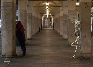 Busy Skeletons Smoker