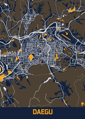 Daegu Bluefresh Map