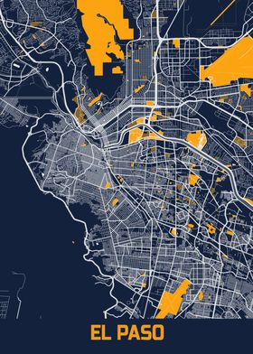 El Paso Bluefresh Map