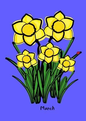 March birth flower