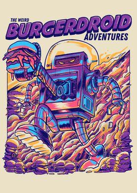 Burgerdroid Adventures