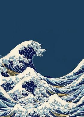 Kanagawa Great Wave Posters Word Fandom Displate