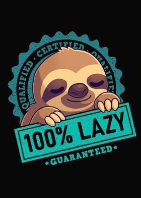 Lazy Sloth Cute Animal