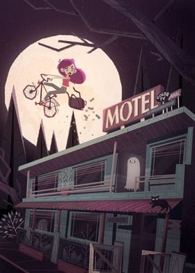 Escape from Ghost Motel