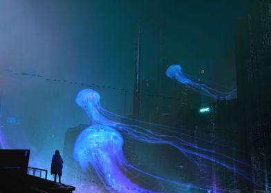 Hologram Jellyfish