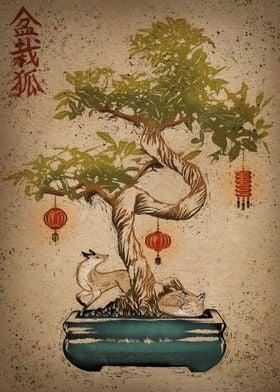 Bonsai kitsune