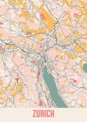Zurich Chalk Map