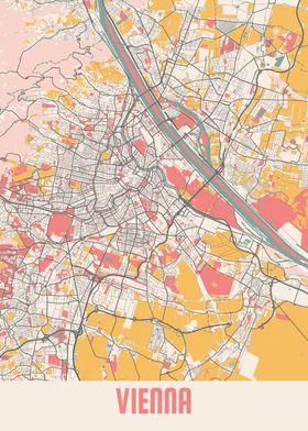 Vienna Chalk Map