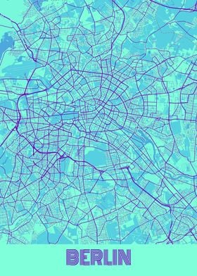 Berlin Galaxy City Map
