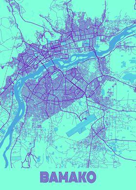 Bamako Galaxy City Map