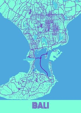 Bali Galaxy City Map