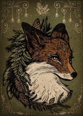 Woodland Fox Queen
