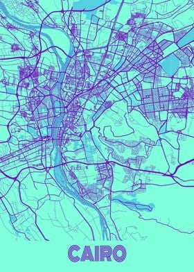 Cairo Galaxy City Map