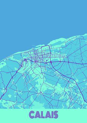 Calais Galaxy City Map