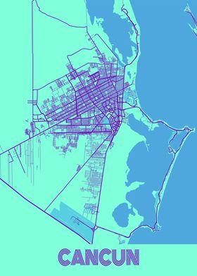 Cancun Galaxy City Map