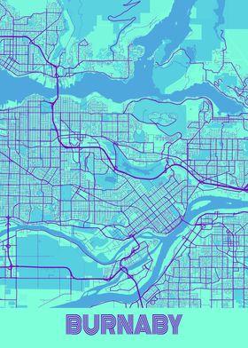 Burnaby Galaxy City Map