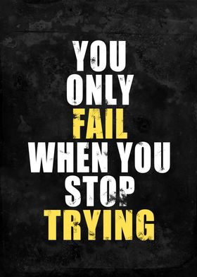 You Only Fail