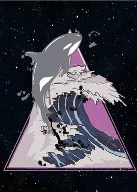 Dolphin in the universe