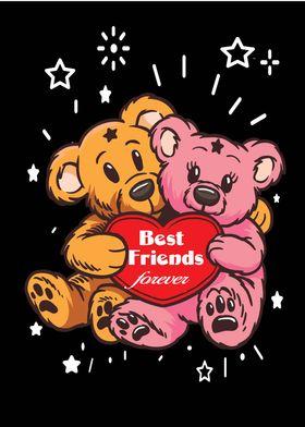 Teddybears Best Friends