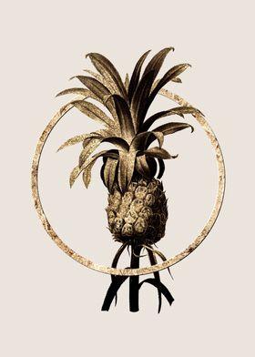 Gold Pineapple Fruit