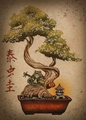 Bonsai Frog