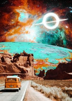 Van Explore trippy world