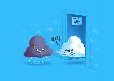 Rainy Queue