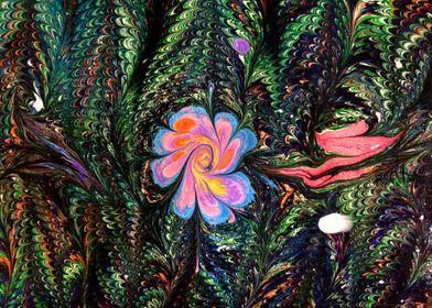 Marbled Flower