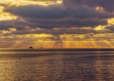 Sunrises Beach Ibiza Sky