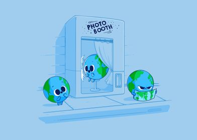 Earth Photo Booth