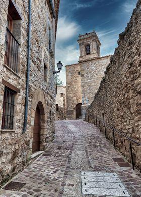 Medieval Village Europe