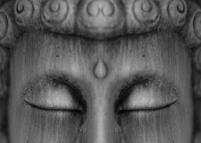 Meditating buddha figure