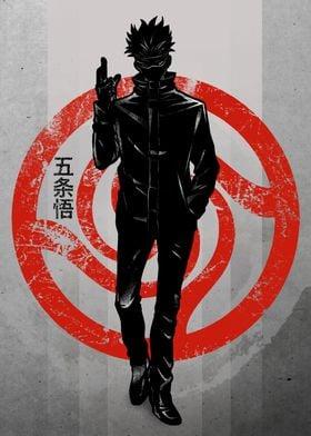 Crimson Satoru Gojo