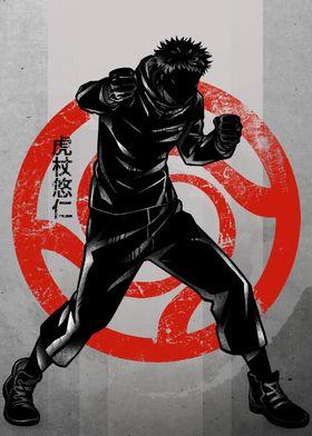 Crimson Yuji Itadori