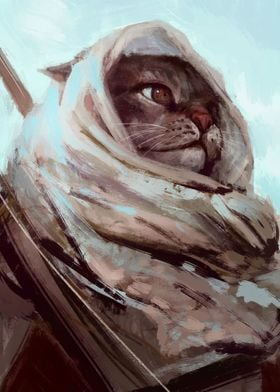 Cat warrior