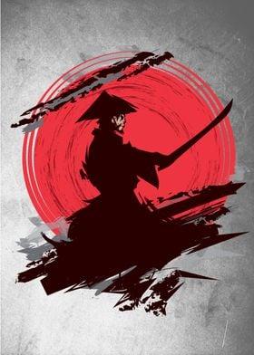 Armed Japan Samurai