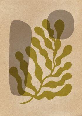 Matisse Leaf and Stones