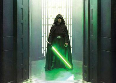 Luke Skylwalker Enters The Room