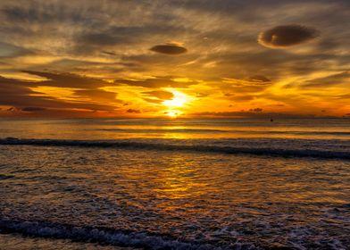 Sunsets Beach Landscapes