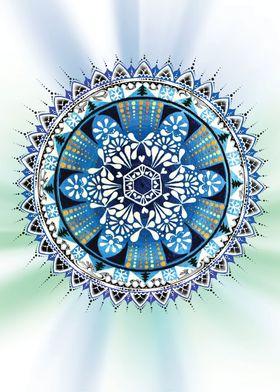 Snow flake Mandala