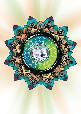 Tree of Life Mandala