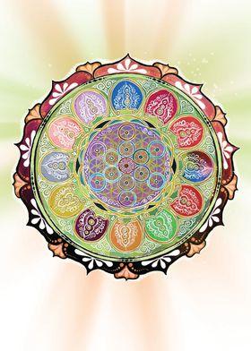 Fruit of Life Mandala