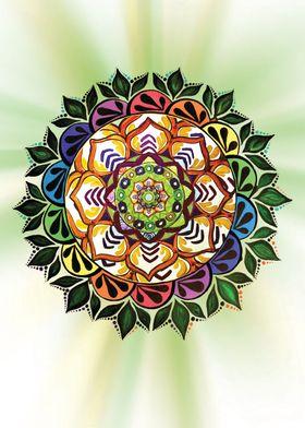 Celebrating Nature Mandala