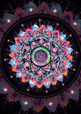 Fairy Cosmic Mandala