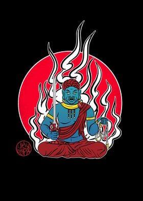 Fudomyo  god of justice