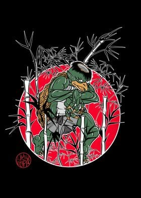 Kappa between the bamboos