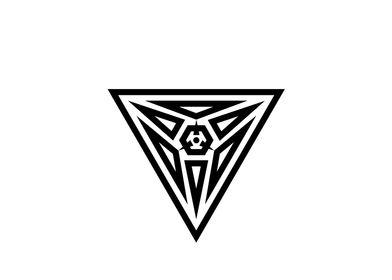 Black and White Glyph Rune