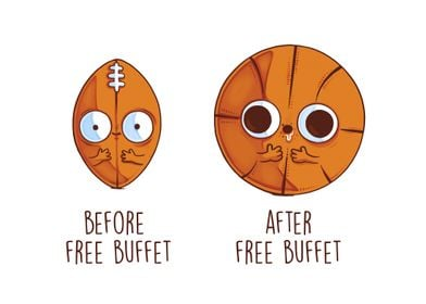 Before After Free Buffet